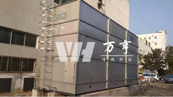 冷却塔厂家万亨关于闭式冷却塔工作原理及优势分析