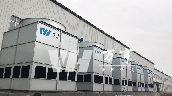 闭式冷却塔的工作原理及冷却塔容量的选择分析